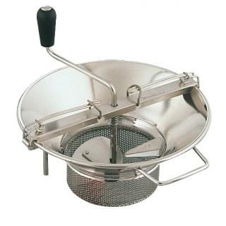 Food mill-strainer