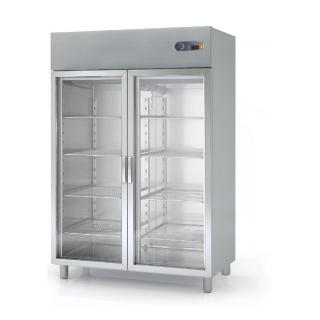 Upright refrigerators and freezers