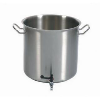 Pot with tap