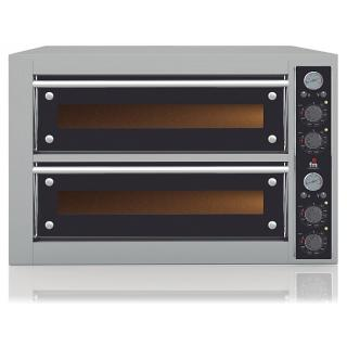 Two decks pizza oven
