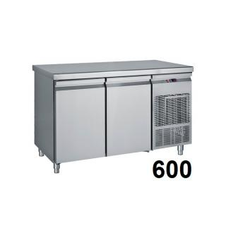 Refrigerated counter 600mm deep