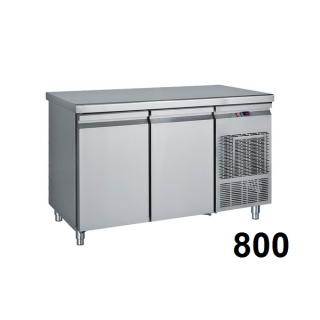 Refrigerated counter 800mm deep