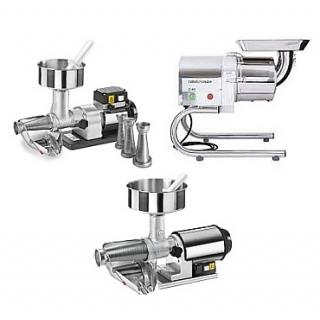 Electric food mill - strainer