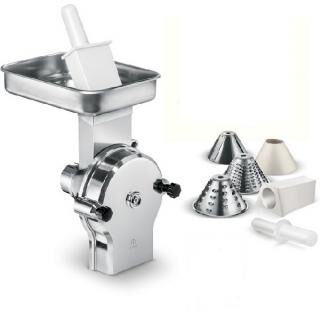 Vegetable cutter tool for meat mincer