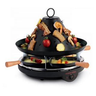 LOUIS TELLIER electric tatar's hat and raclette