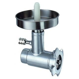 DUPLEX Meat mincer accessory with stainless steel screw