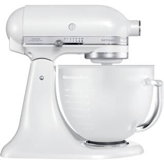KITCHENAID Artisan stand mixer frosted pearl - with glass bowl