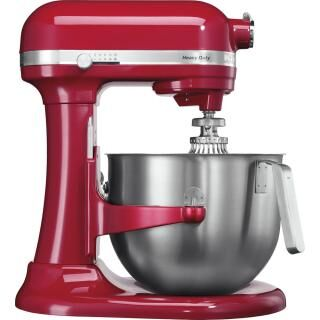 KITCHENAID Heavy Duty stand mixer with stainless steel bowl - red