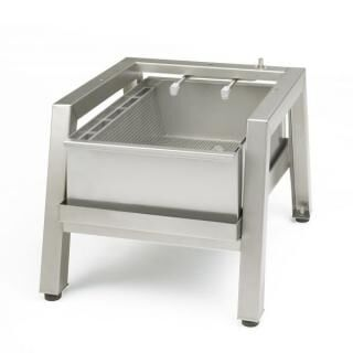 SAMMIC stands with filter for PI-30 potato peeler