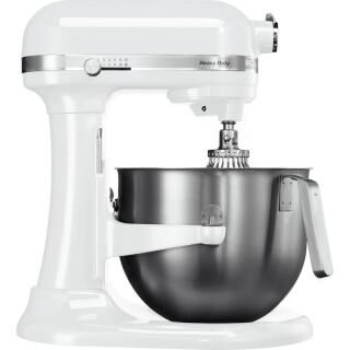 KITCHENAID Heavy Duty stand mixer with stainless steel bowl - white