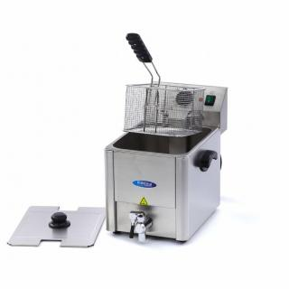 MAXIMA 8 liters electric fryer with drain tap