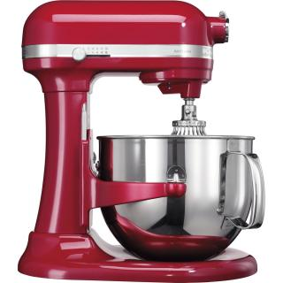 KITCHENAID Artisan Profi stand mixer with stainless steel bowl - red