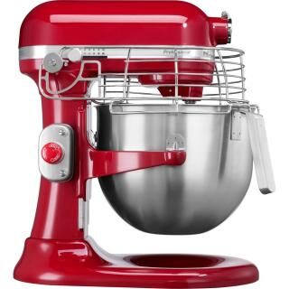 KITCHENAID Professional stand mixer with safety grid - red