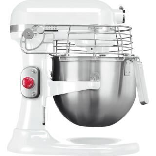 KITCHENAID Professional stand mixer with safety grid - white