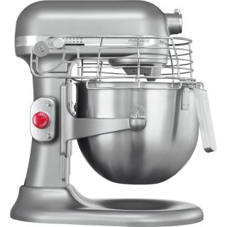KITCHENAID Professional stand mixer with safety grid - silver metallic