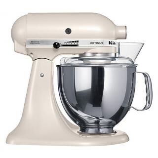 KITCHENAID Artisan stand mixer caffe latte
