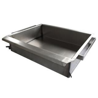 GÁZGRILL BG-3 LO scone fryer pan - steel - with drain