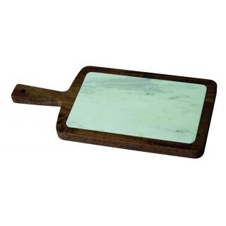 HORECATECH wood cutting board with marble