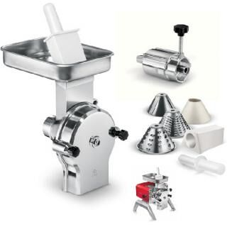 TOOLLIO Vegetable cutter and soft cheese grater attachment