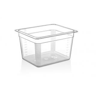 GN 1/2 Polycarbonate container 200mm deep