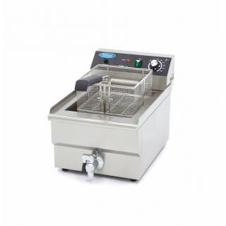 MAXIMA 16 liters electric fryer with drain tap