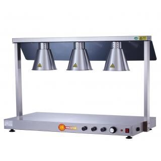 HORECATECH RS564 hot plate with infrared lamps