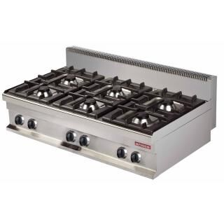 ARISCO GR731-S gas cooker 6 burners