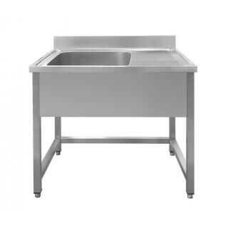 GAMMO EM1-4050J 1-bowl right-hand sink with dropper