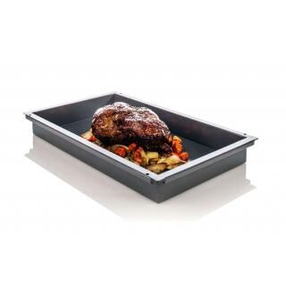 RATIONAL GN 2/1 granite coated container 60 mm