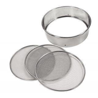 LOUIS TELLIER stainless flour strainer with 3 insets