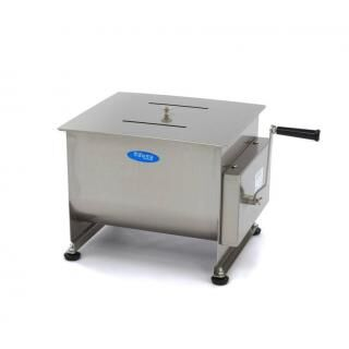 MAXIMA 30 liters manual meat mixer double axle