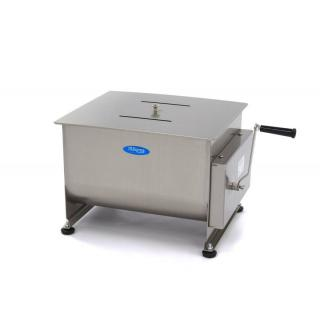 MAXIMA 40 liters manual meat mixer double axle