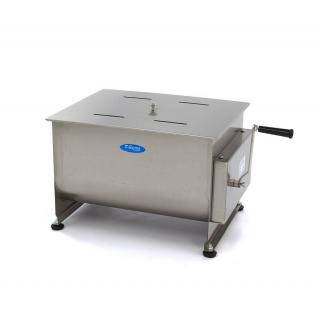 MAXIMA 50 liters manual meat mixer double axle