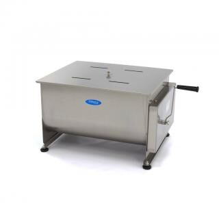 MAXIMA 60 liters manual meat mixer - double axle