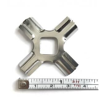 Knife for KITCHENAID meat mincer attachment