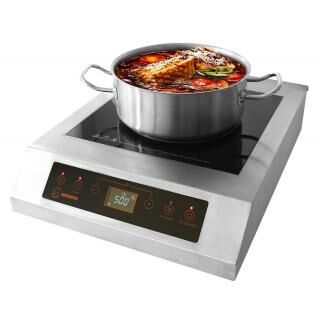 HORECATECH XL induction cooker with double fan
