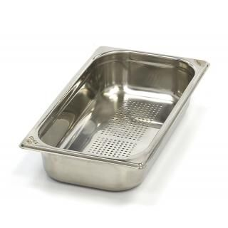 MAXIMA GN 1/3 perforated container 65 mm deep