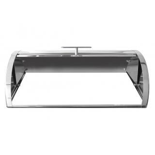 HORECATECH stainless steel roll top lid for GN1/1 chafing dish