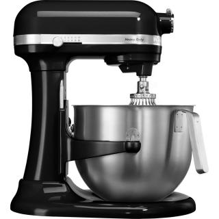 KITCHENAID Heavy Duty stand mixer with stainless steel bowl - onyx black