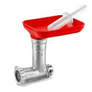 Meat mincer attachment for TRE SPADE tomato squeezer