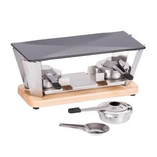 LOUIS TELLIER tabletop planchetta grill for 2-4 persons