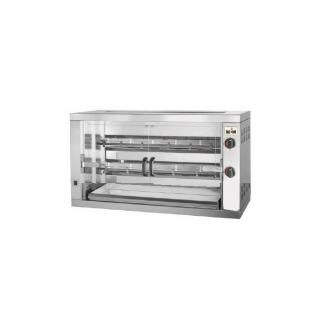 MCM 2 EENC electric chicken roaster for 12 chicken - compact