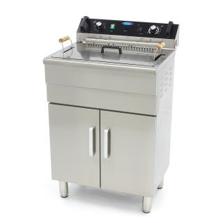 MAXIMA 30 liters fryer with drain tap and cupboard