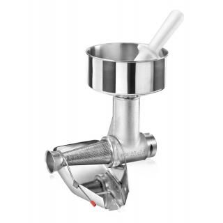 Tomato squeezing attachment for TRE SPADE TC-8-12 meat mincers