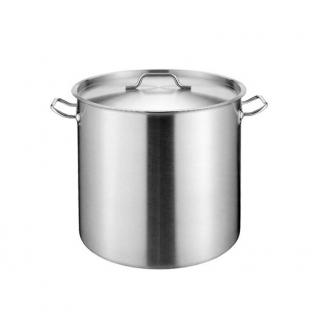GAMMO stock pot with Lid 17 liters 28x28cm
