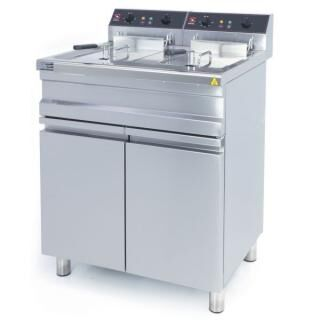 SAMMIC FE-15+15 electric fryer 2x14 Liter