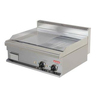 ARISCO EG721SG-S table electric fry top 700 series