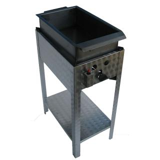 GÁZGRILL BGS-1 LO standing scone and donut fryer with drain