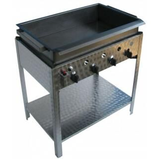 GÁZGRILL BGS-4 L standing 4 burner scone and donut fryer
