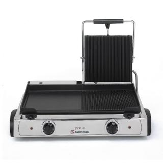 SAMMIC GLD-10 combi contact grill - smooth/grooved